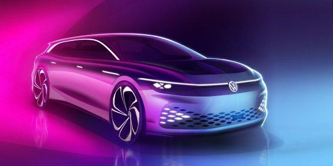 Volkswagen запустит в серию новый электрический универсал 1