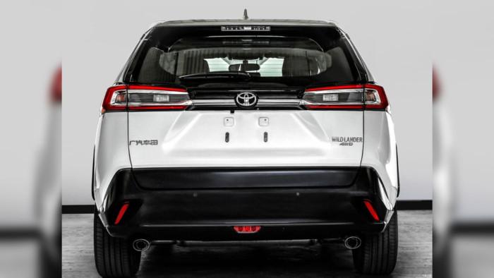 Toyota строит новый кроссовер на базе RAV4 2