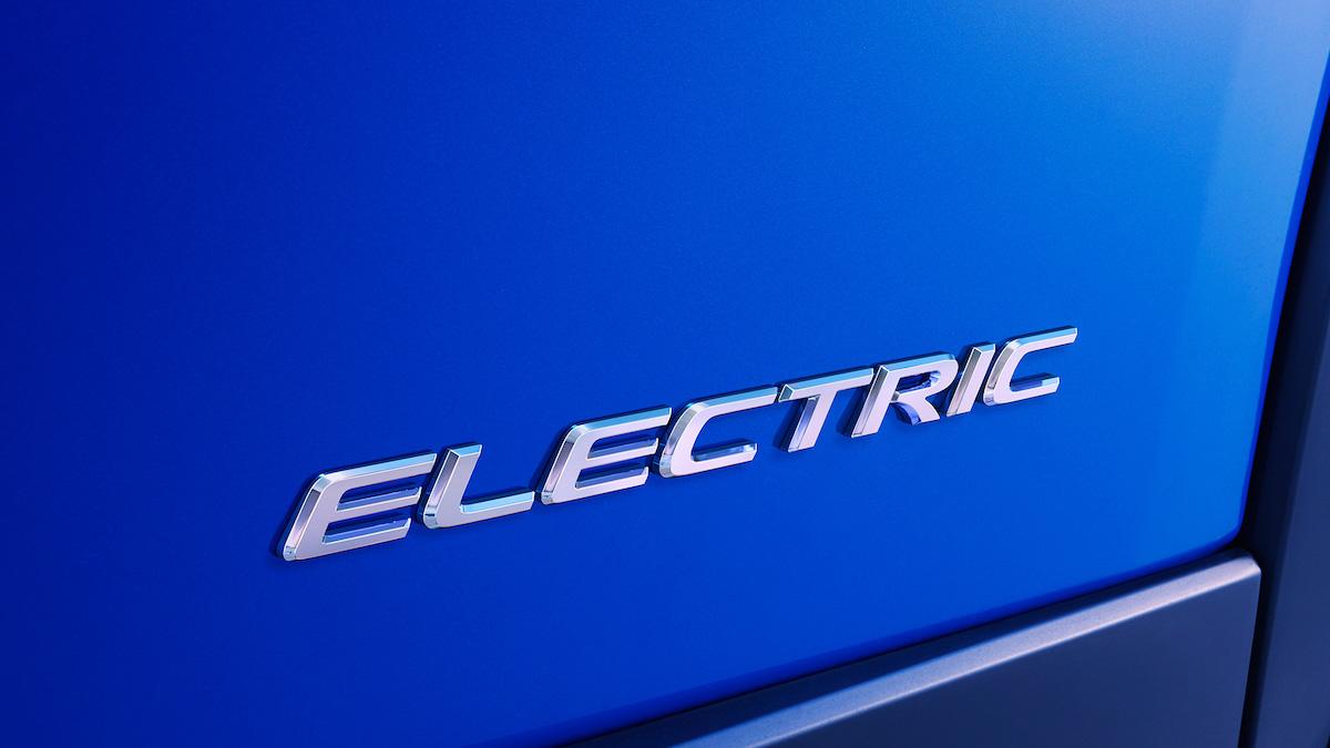 Lexus продемонстрировал первое изображение своего электрокара 1
