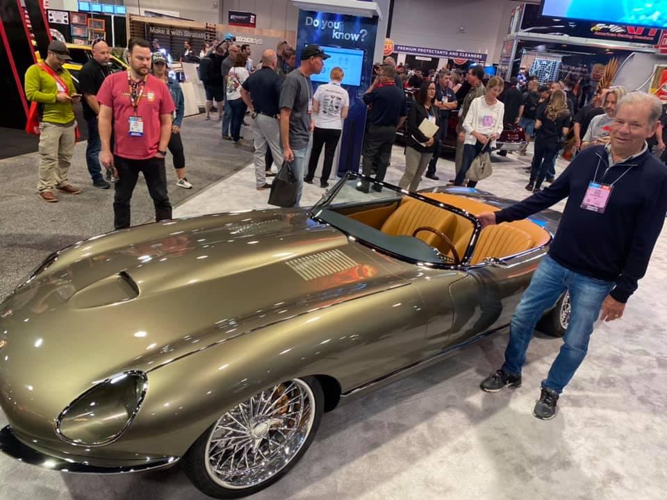 Самый красивый в мире автомобиль превратился в безумный хот-род 1