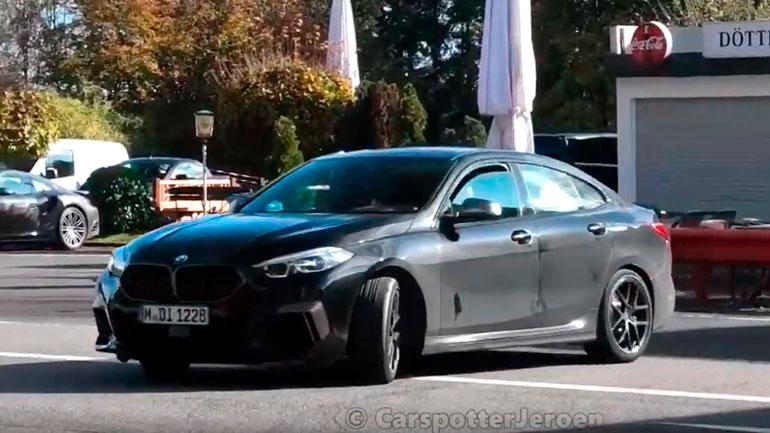 BMW M235i Gran Coupe проходит тесты на Нюрбургринге 1