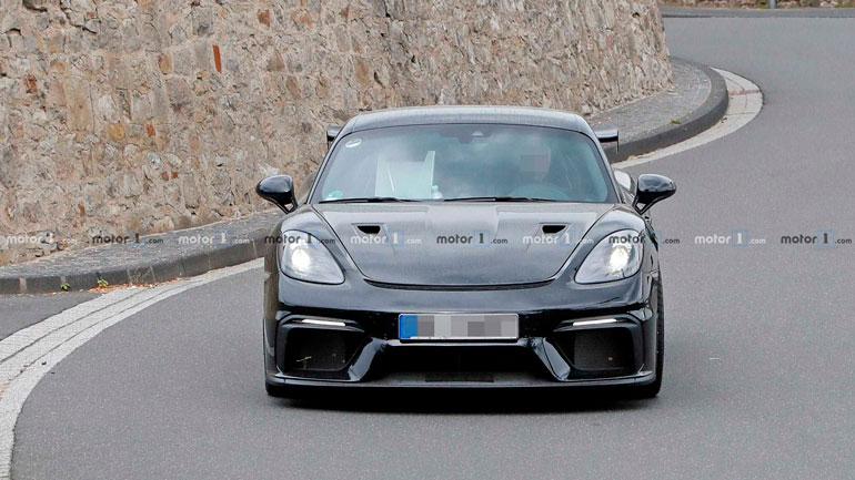 Электрический Porsche Cayman получит 400 лошадиных сил мощности 1