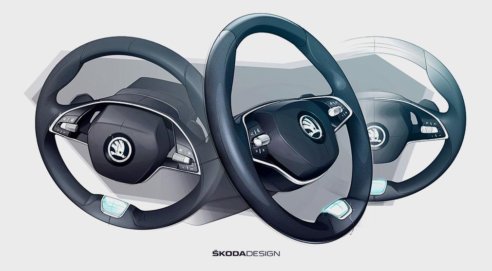 Skoda показала салон новой Octavia 1