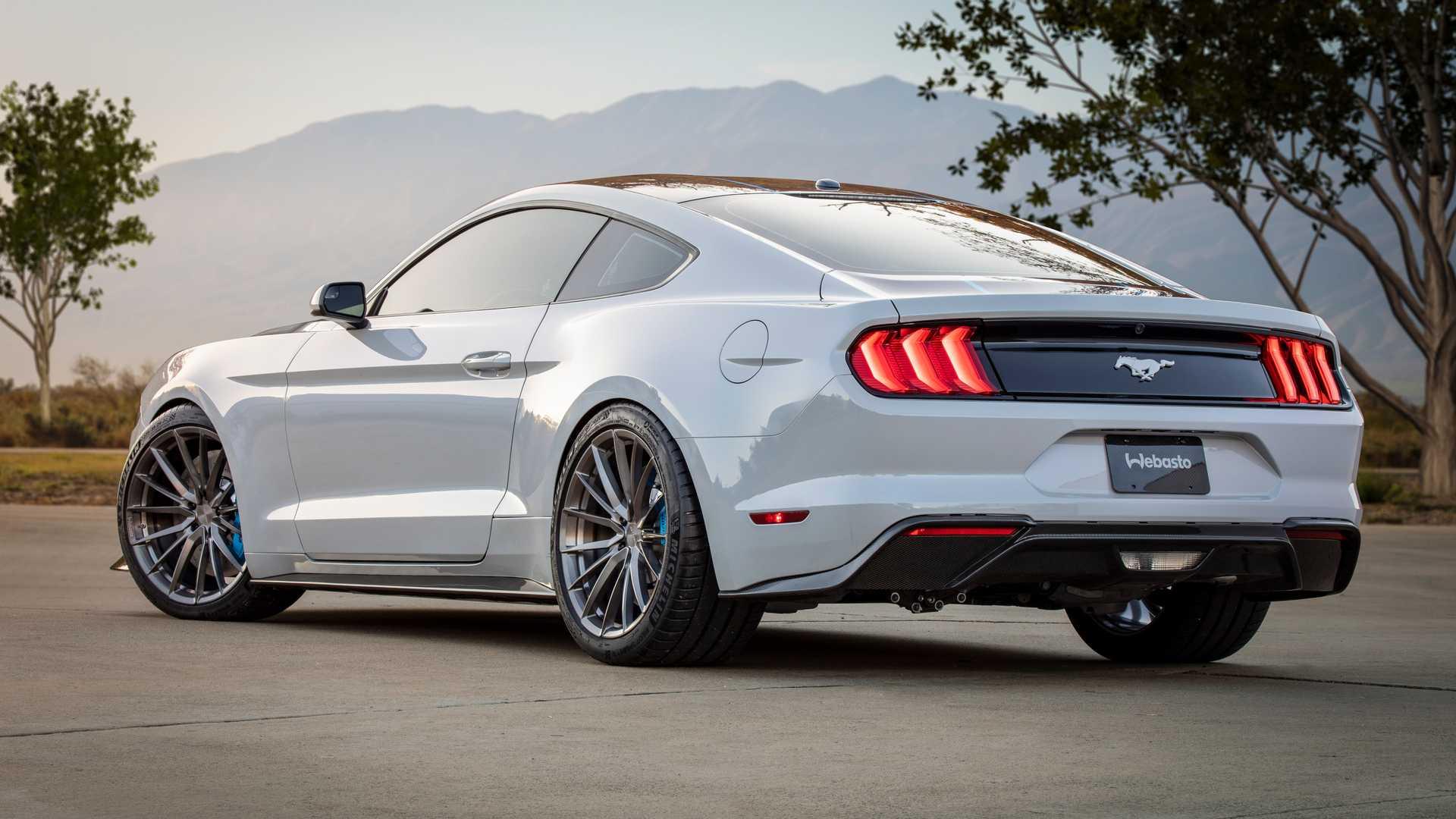Ford Mustang превратили в 900-сильный электромобиль с «механикой» 2