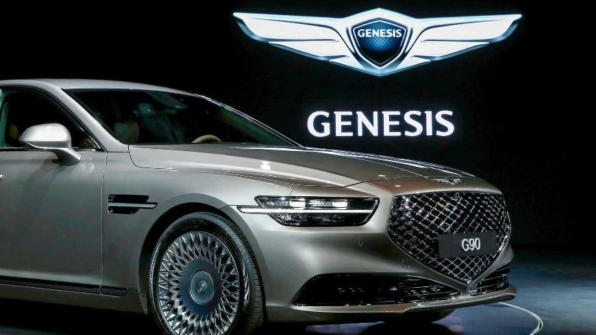 Новый Genesis G90 готовится к официальной премьере 1