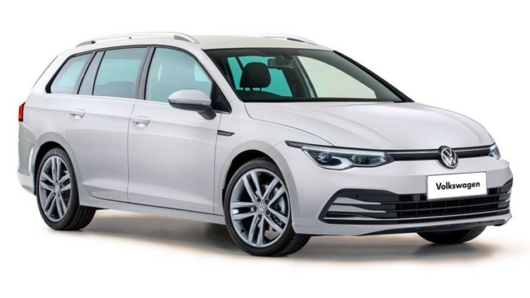 Опубликованы изображения нового Volkswagen Golf в кузове универсал 1