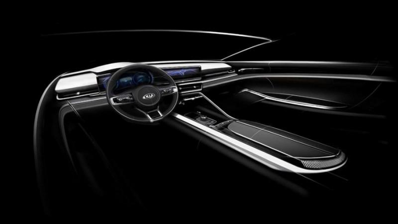 Опубликованы тизерные изображения новой Kia Optima 3