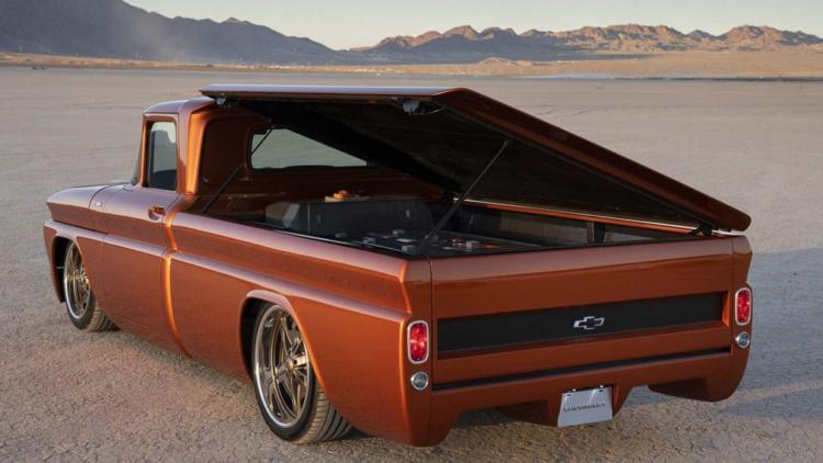 Chevrolet показала свой пикап «Запорожец» 2