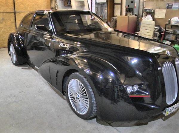 Украинский умелец собственноручно воссоздал автомобиль своей мечты 1