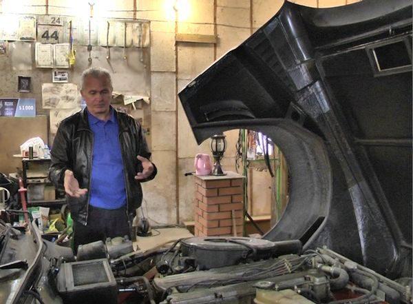 Украинский умелец собственноручно воссоздал автомобиль своей мечты 2