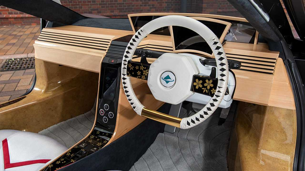 Японцы построили деревянный автомобиль 3