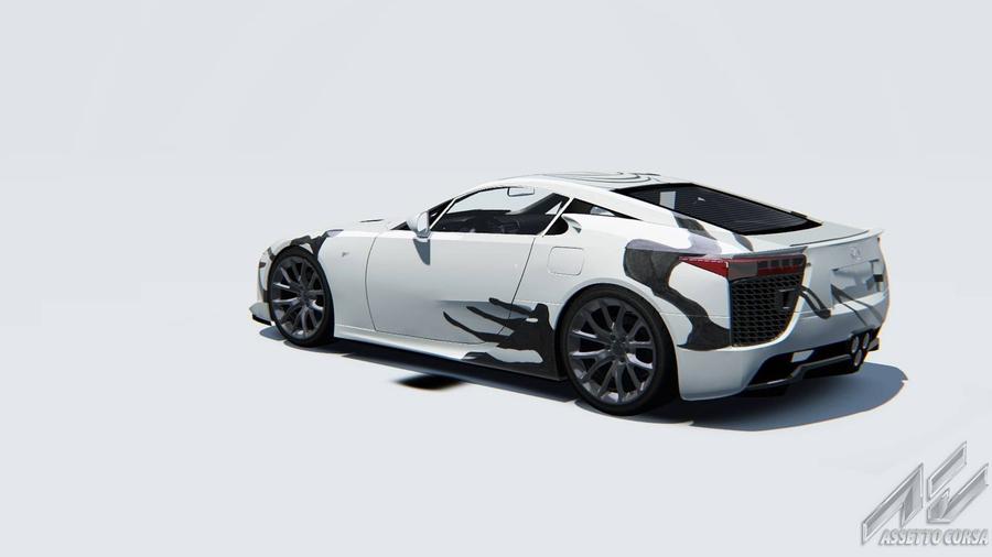 Из Lexus LFA сделали арт-кар 3