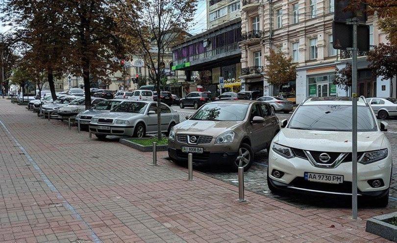 Украинцы оказались не готовы к новому типу парковок 1