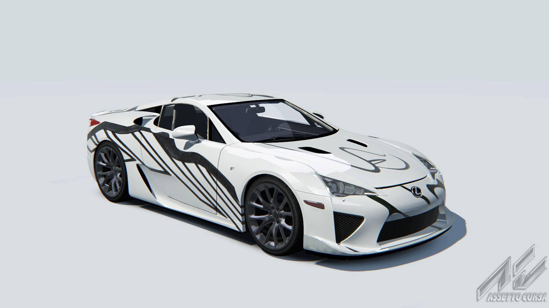Из Lexus LFA сделали арт-кар 1