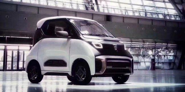Электромобиль Baojun E200 получит «геометрический» дизайн 1