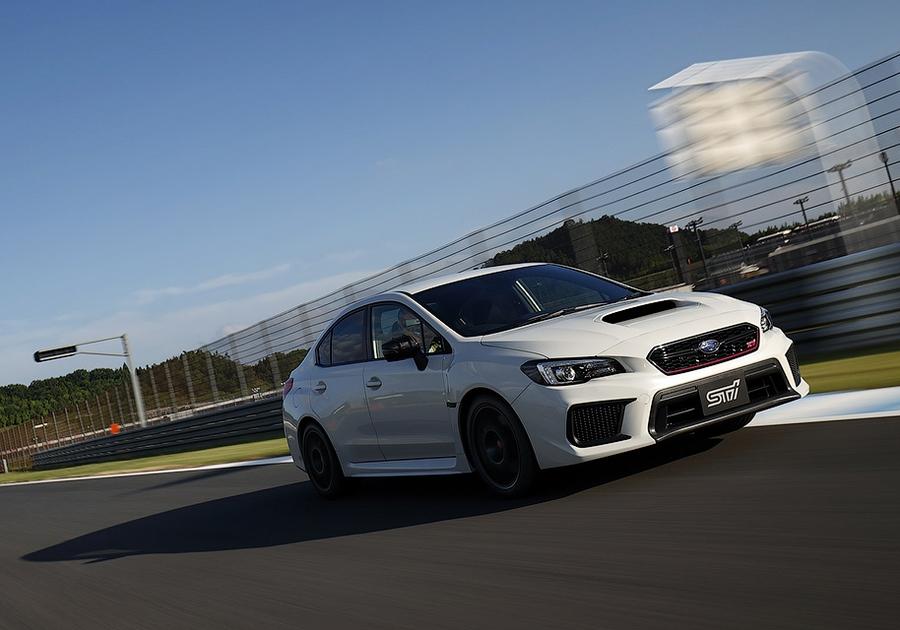 Subaru выпустила самый мощный WRX STI 1