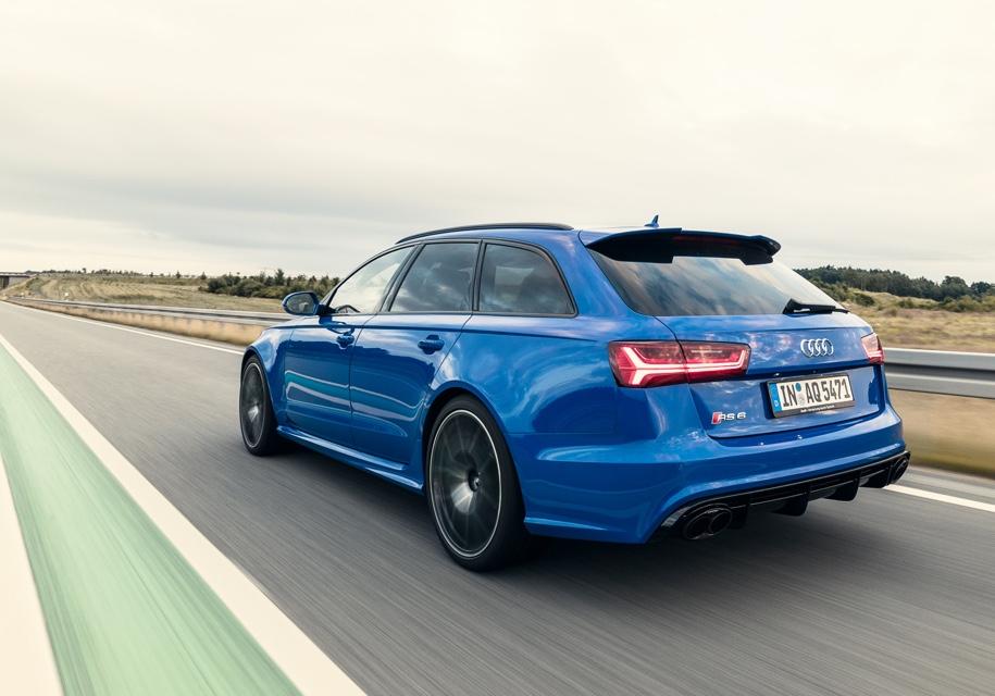 Lamborghini поделится мотором с универсалом Audi RS6 1