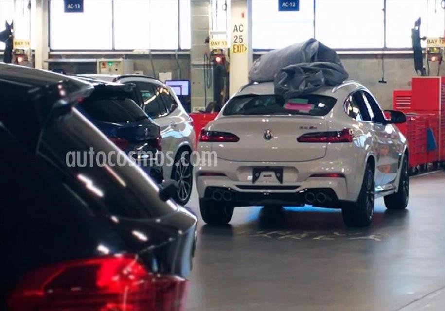 Опубликовано первое фото BMW X4 M 1