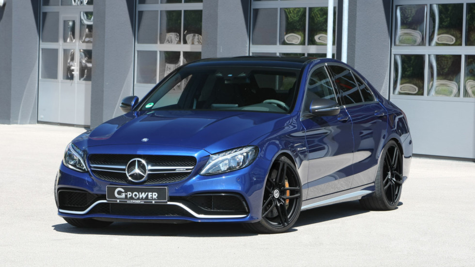 Mercedes-AMG C 63 S получил апгрейд мощности от G-Power  1