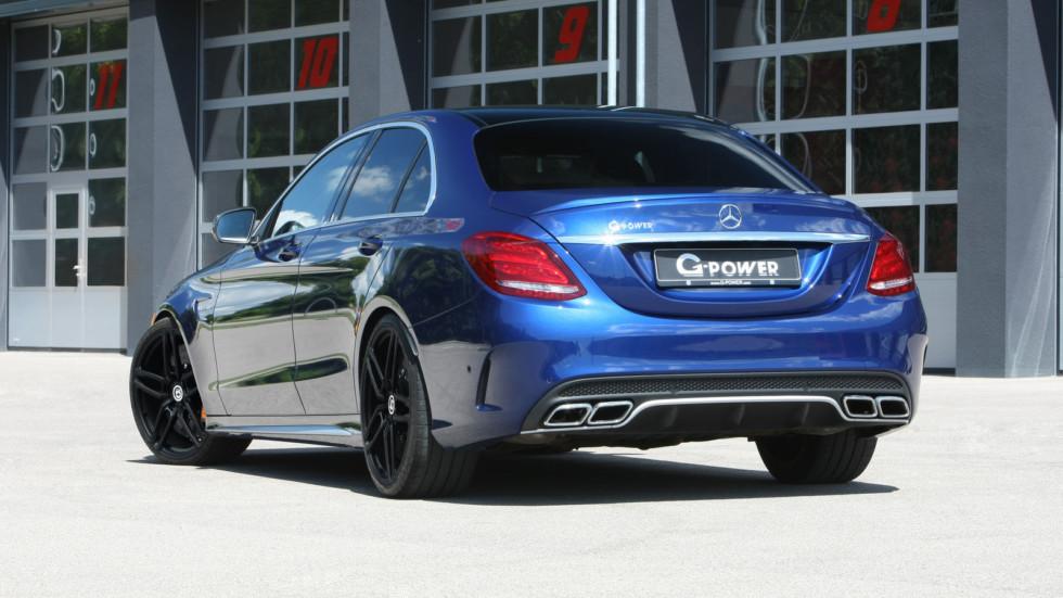 Mercedes-AMG C 63 S получил апгрейд мощности от G-Power  2