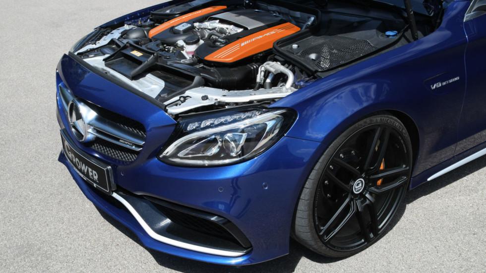 Mercedes-AMG C 63 S получил апгрейд мощности от G-Power  3