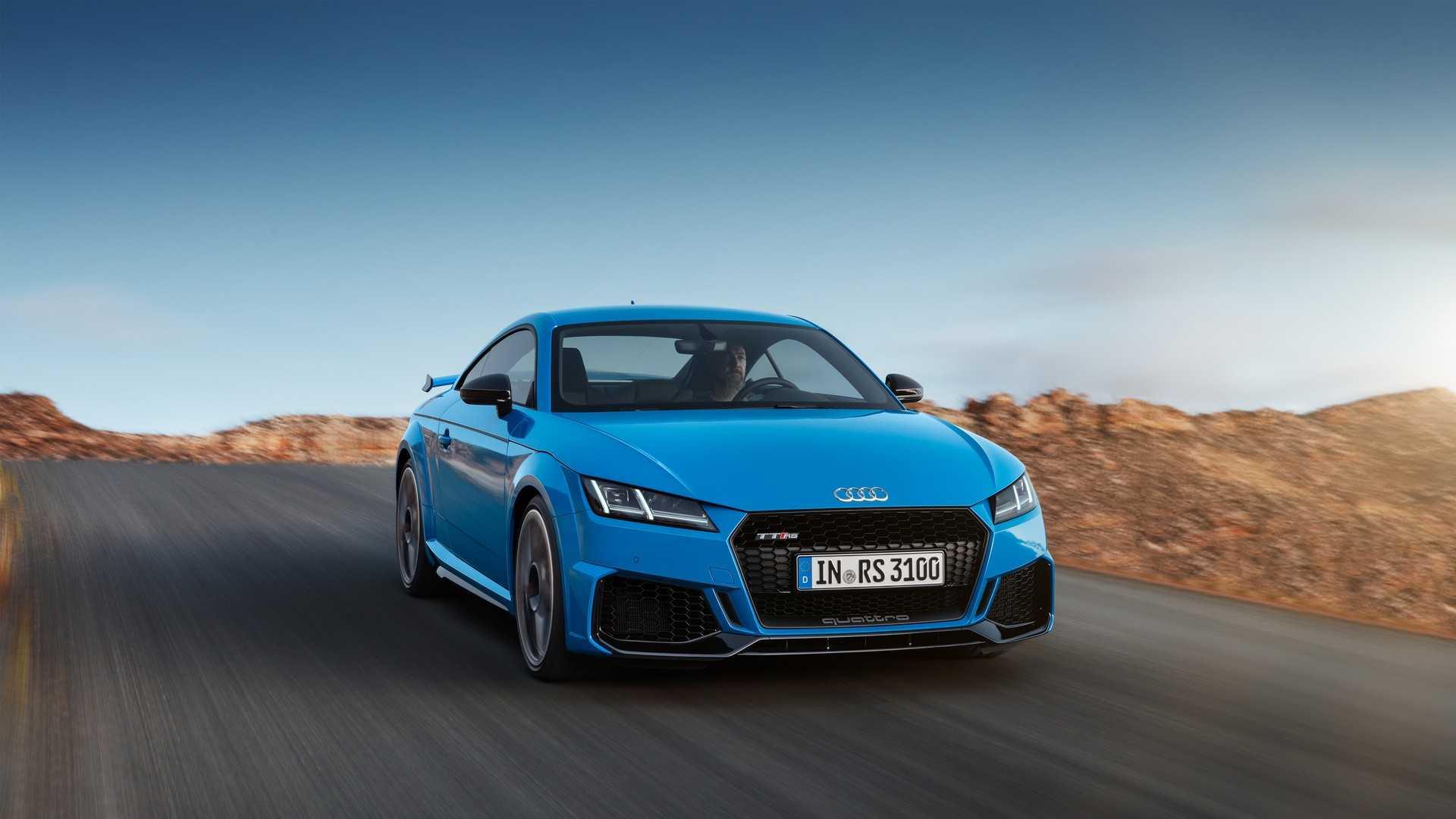 Обзор Audi TT RS Coupe 2019 модельного года 1