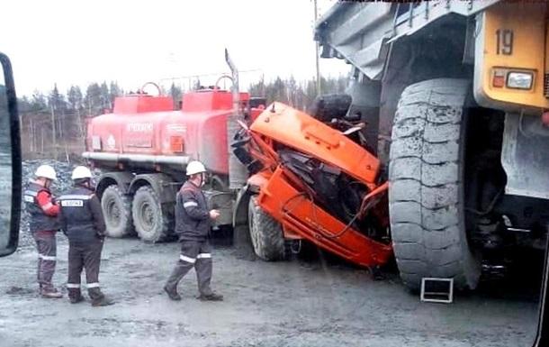 Что будет с КамАЗом, если его переедет БелАЗ 2