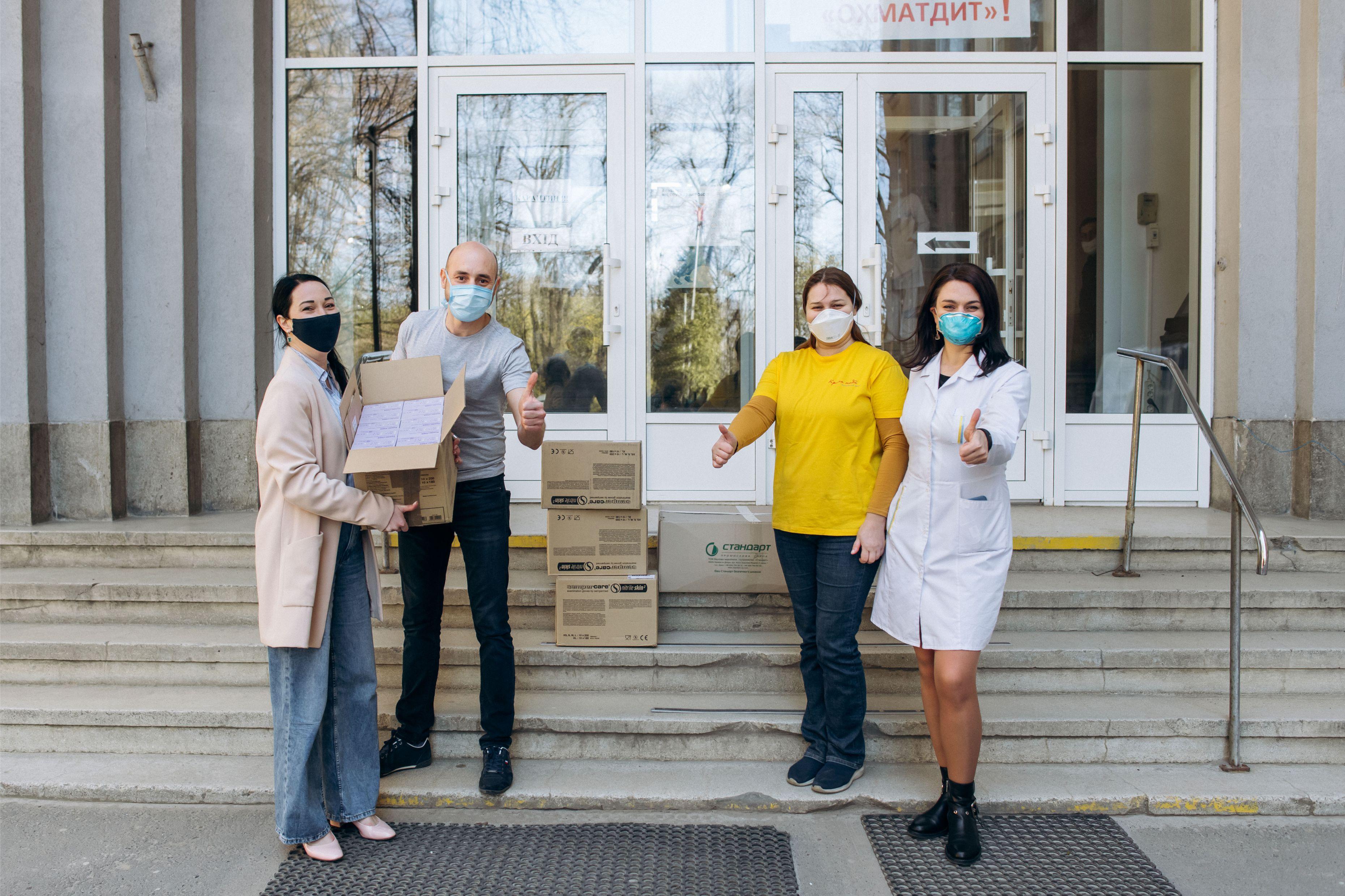 Компания ОККО продолжает помогать медикам в борьбе с коронавирусом 1