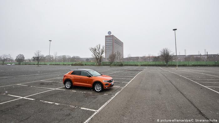 Volkswagen восстанавливает производство машин 1