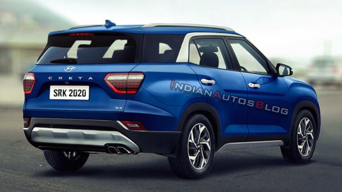Опубликованы первые изображения семиместного кроссовера Hyundai Creta 2