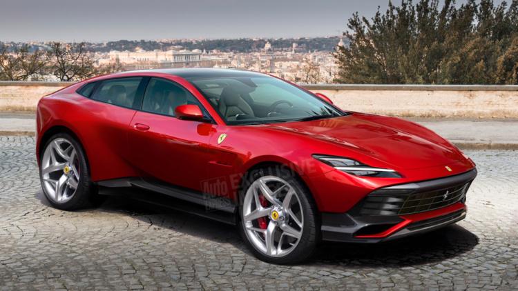 Появились подробности о первом внедорожнике Ferrari 1