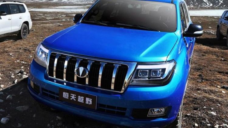 Китайский Land Cruiser предстал на официальных изображениях 2