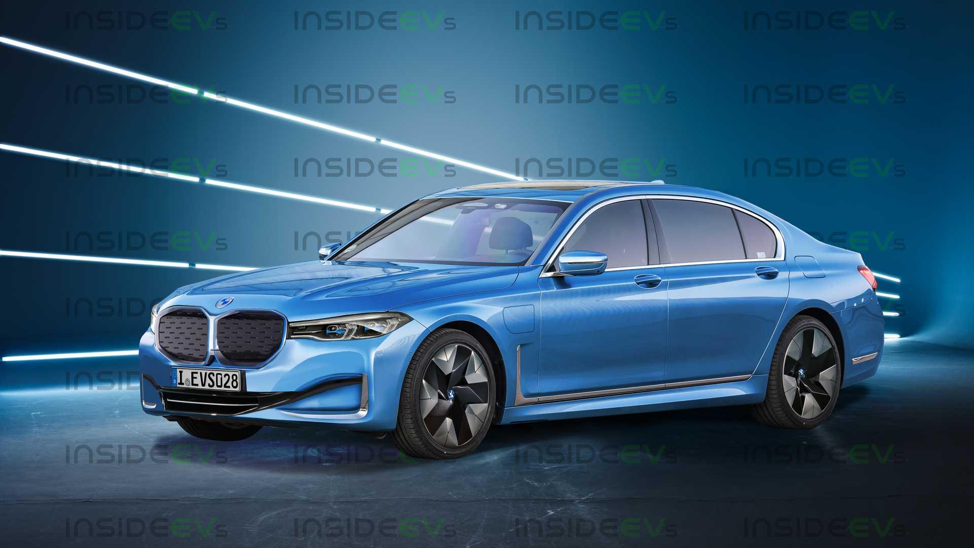 В BMW официально подтвердили выпуск i7 1