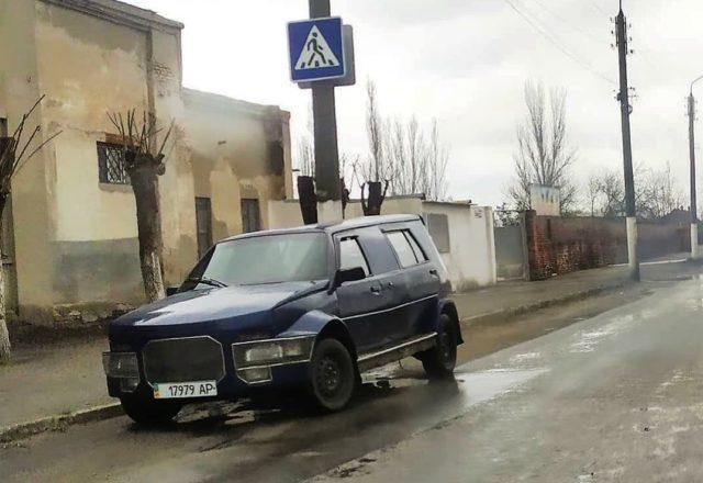 В Украине заметили «Славуту», которую прозвали «машиной апокалипсиса» 1