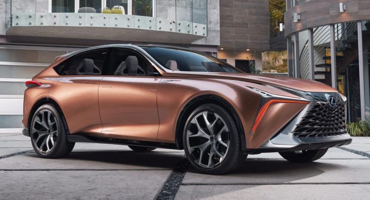 Lexus представит новый мощный кроссовер 1
