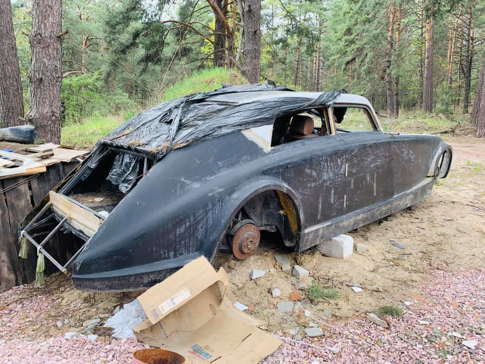 Уникальный довоенный Maybach обнаружен в украинском лесу 3