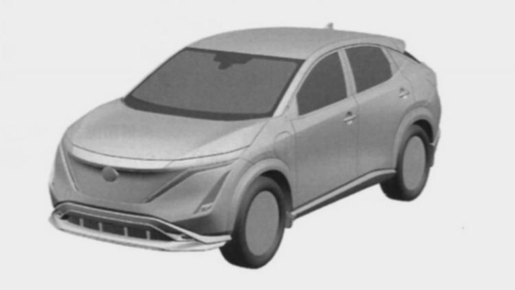 Появились изображения нового серийного кроссовера Nissan 1