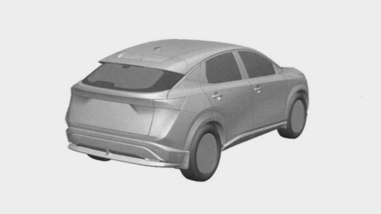 Появились изображения нового серийного кроссовера Nissan 3