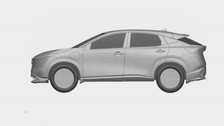 Появились изображения нового серийного кроссовера Nissan 2