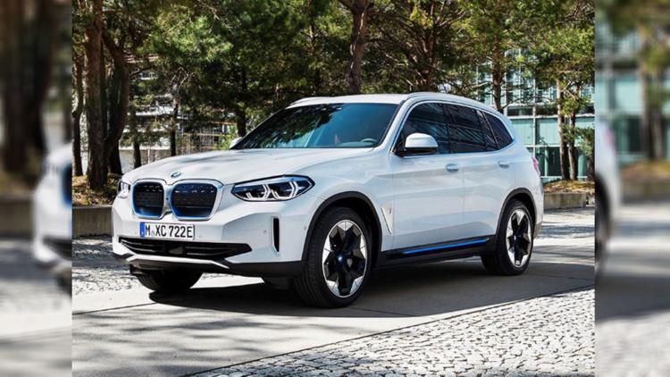 Изображения электрического BMW iX3 показались в Сети 1