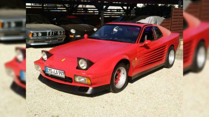 Необычный гибрид Porsche и Ferrari продается по цене Renault Duster 1