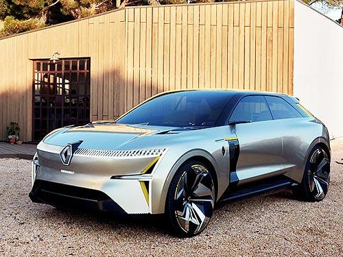 Компания Renault готовит электрический кроссовер 1