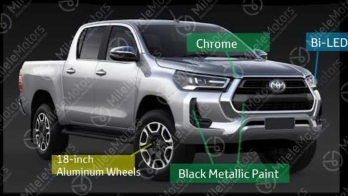 Каким может быть новый Toyota Hilux 1