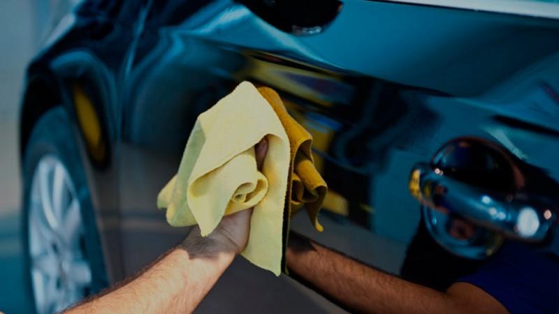 Как помыть автомобиль без воды 1