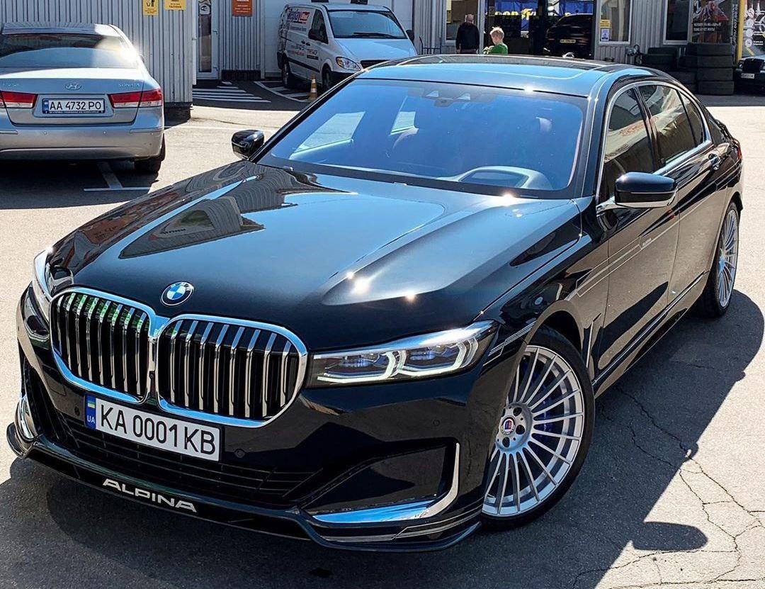 В Украине засветился новенькая Alpina B7 стоимостью свыше 5 миллионов 1