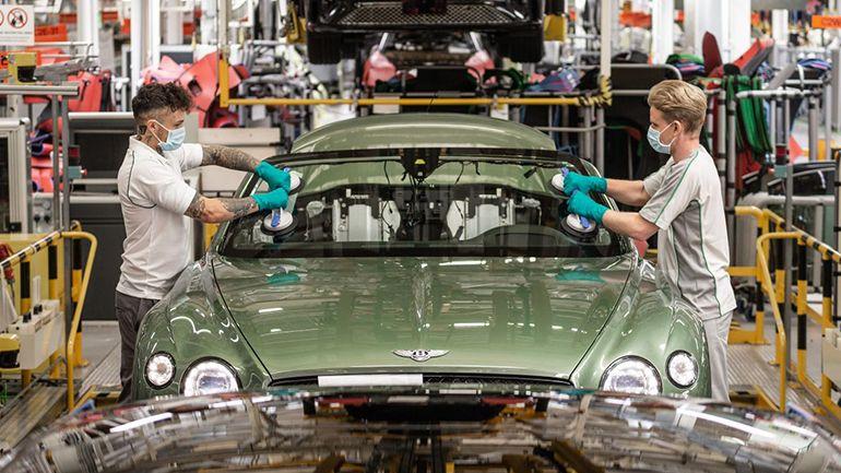 Компания Bentley назвала дату возобновления производства 1