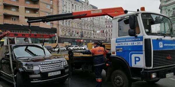 В Киеве более двухсот автомобилей оказались на штрафстоянке 1