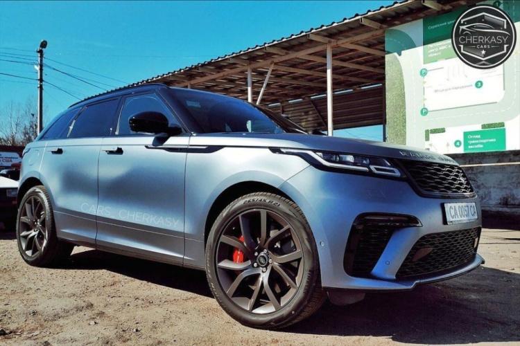 Самый быстрый Range Rover замечен в Украине 1