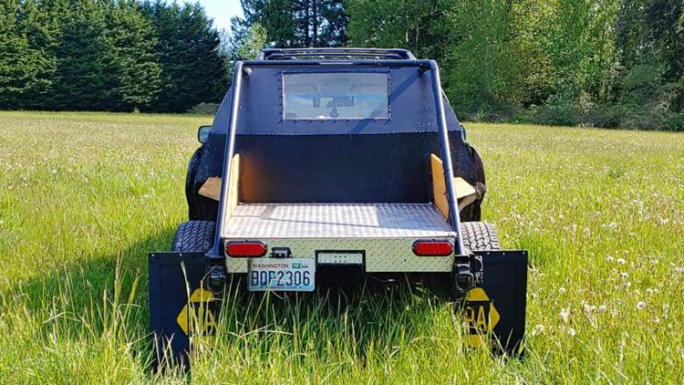 Из универсала Subaru Outback сделали странный пикап 2