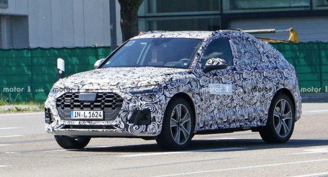 На тестах замечен новый Audi Q5 Sportback 1